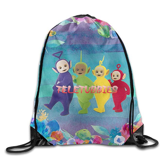 Creative Design Smart Teletubbies Drawstring Backpack Sport Bag For Men And  Women b441a1969baff